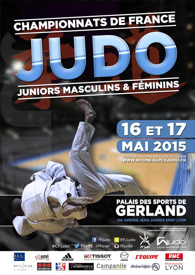 Championnats de France 1ère division Juniors  les 16/17 Mai 2015