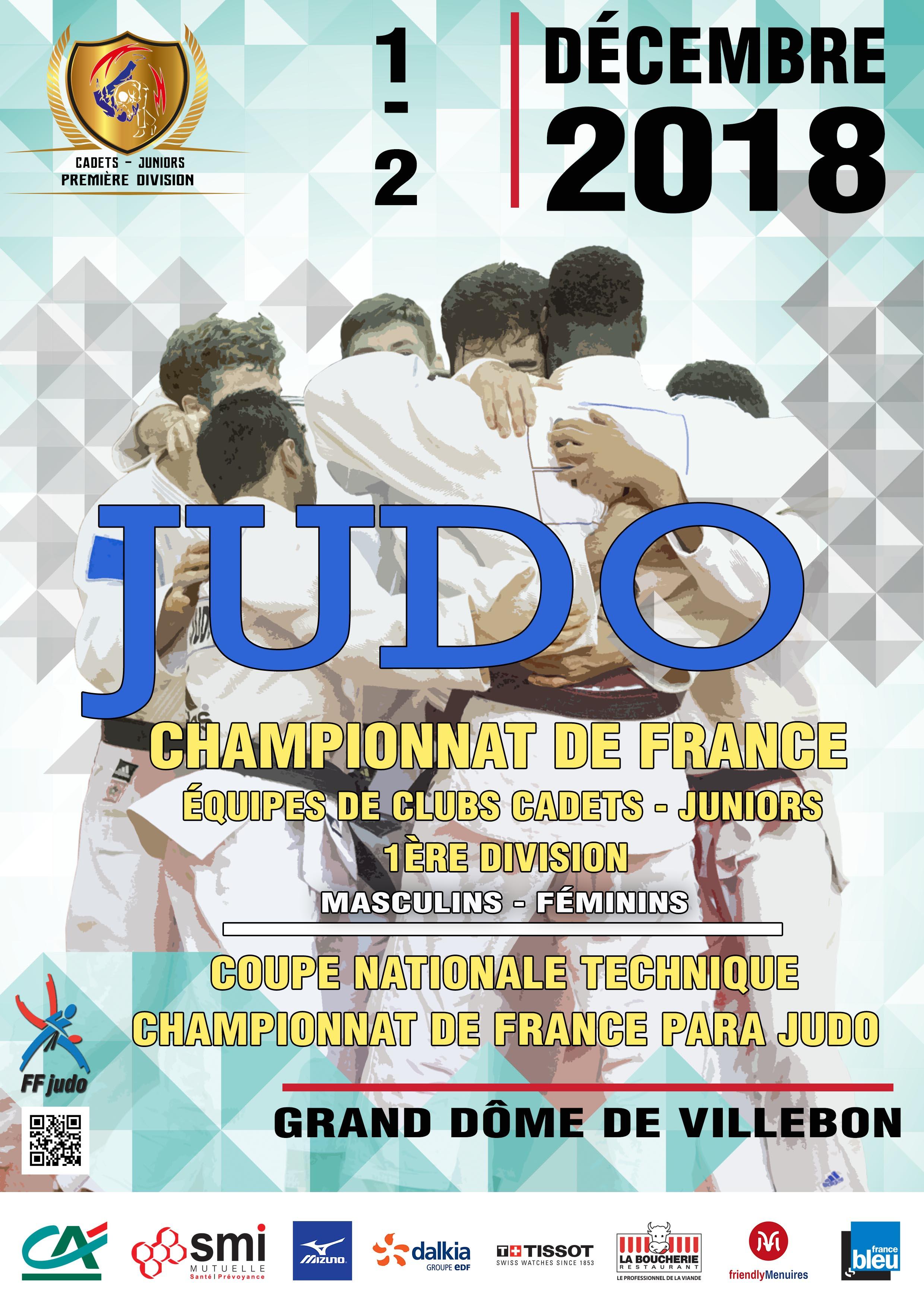CHAMPIONNAT DE FRANCE PAR ÉQUIPES DE CLUBS CADETS / JUNIORS