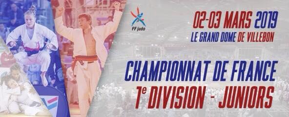 CHAMPIONNAT DE FRANCE 1ÈRE DIVISION JUNIORS